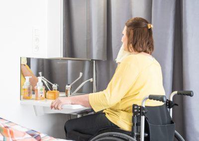 bed en bad voor rolstoelgebruikers bij Orthoservice