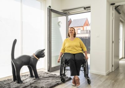 toegankelijkheid voor rolstoelgebruikers bij Orthoservice