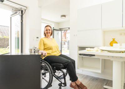 rolstoelwoning te bezichtigen in Heist-op-den-Berg door Orthoservice